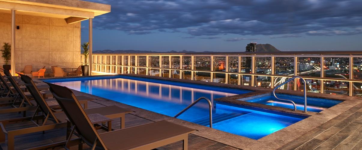 Hotel Hilton Garden Inn - Paseo Central - Chihuahua, México